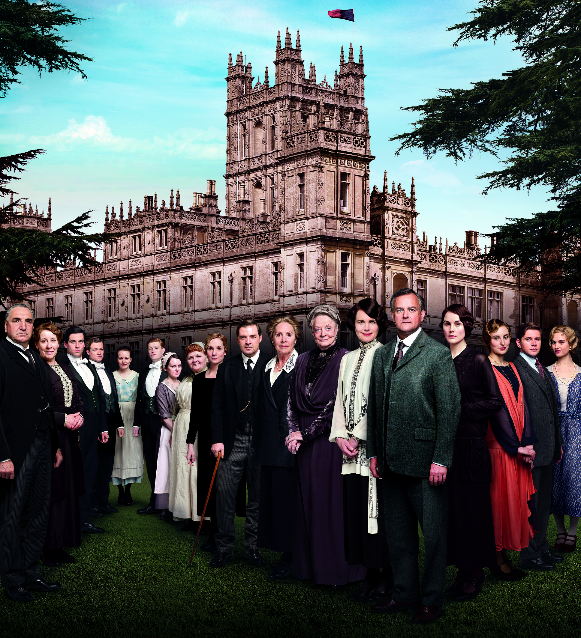 Downton Abbey season 4 cast new