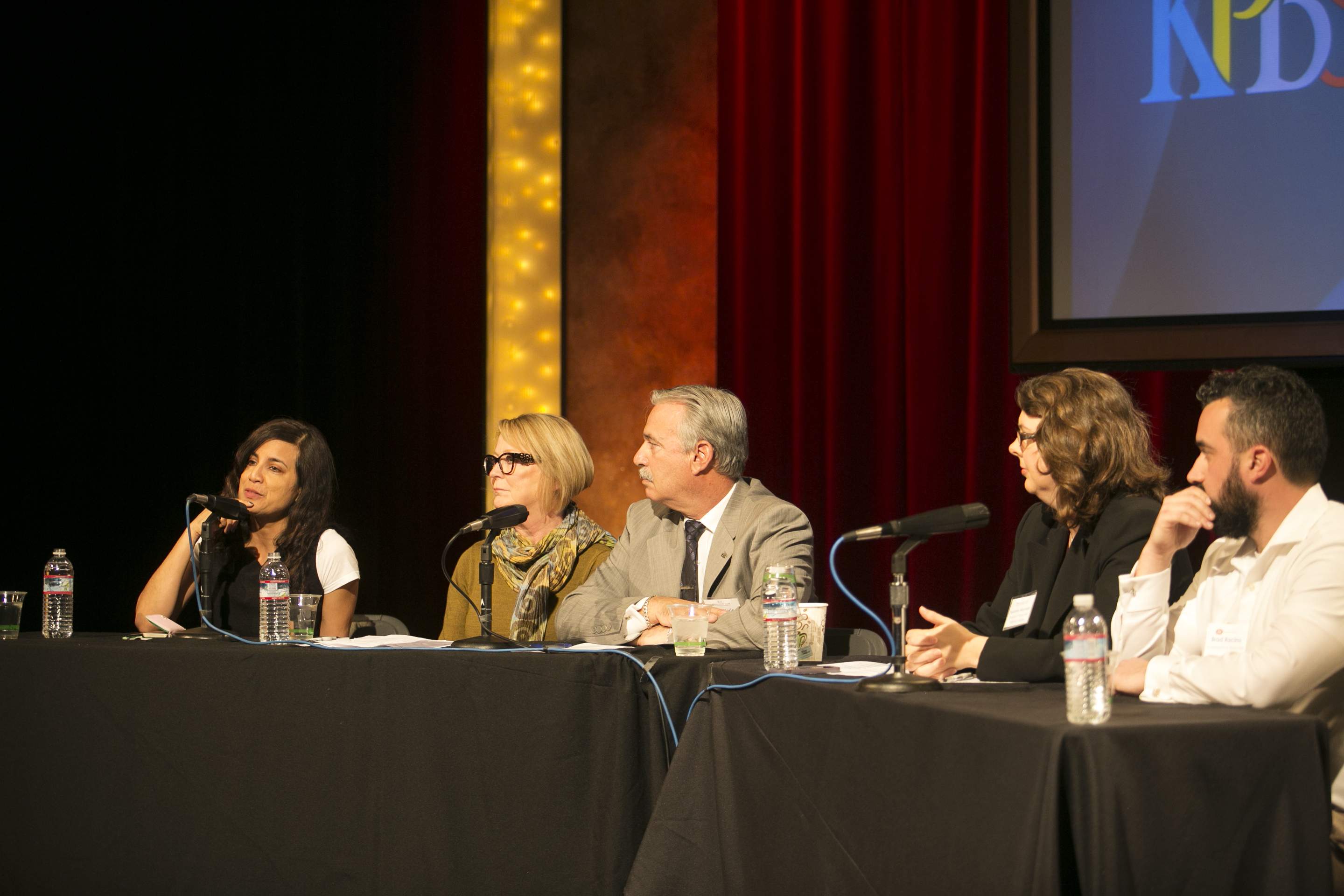 KPBS LunchHour Panel on Investigative Reporting