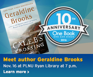 One Book, One San Diego Geraldine Brooks (7pm)