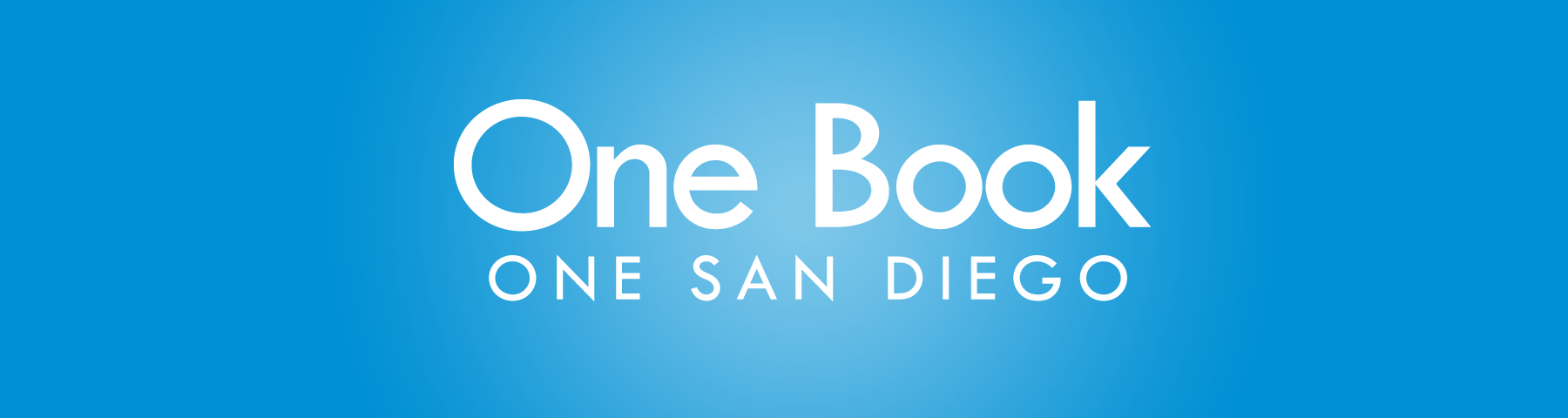 One Book Blue Banner