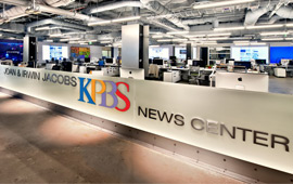 KPBS Joan and Irwin Jacobs Newscenter